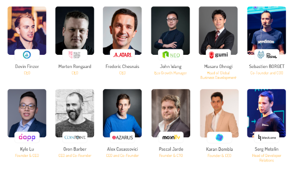 The first batch of speakers revealed: Atari, NEO, Reality Clash  and Block.one confirmed to speak at Crypto Games Conference, April 25-26,Minsk!
