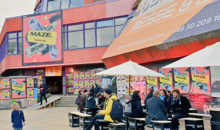 DCP awarded festival A MAZE. / Berlin Festival opened