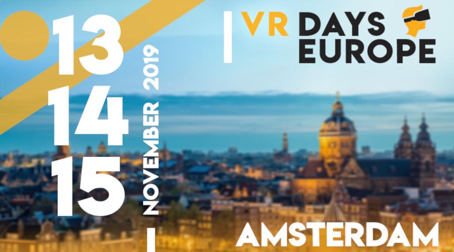 BBN COOP: VR Days Europe – Amsterdam
